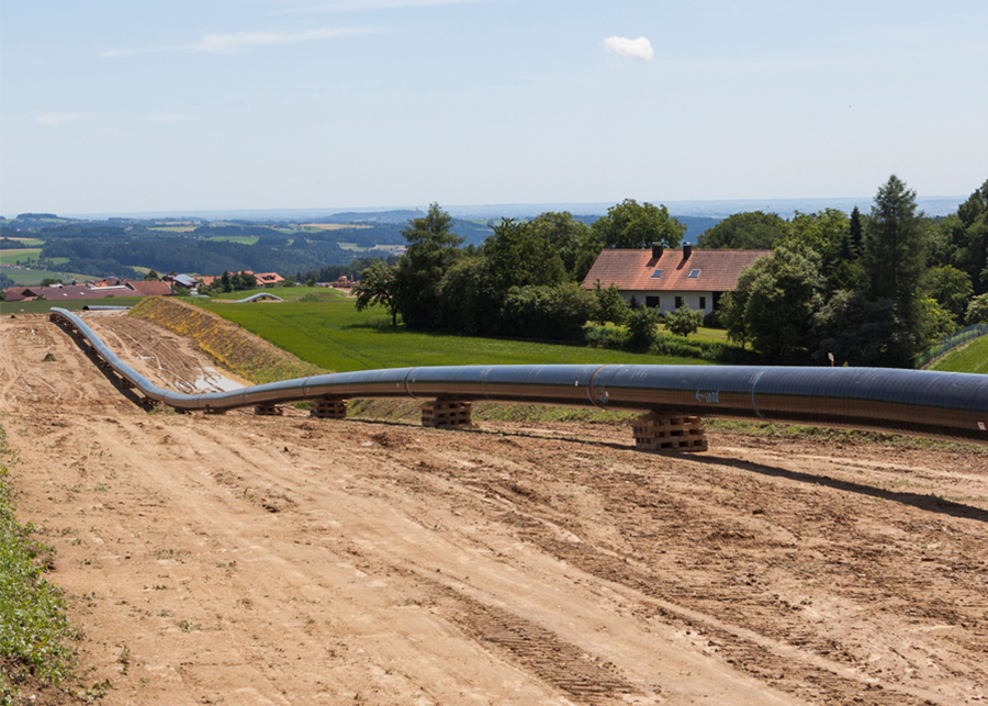 Pipeline construction